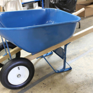 Roll-n-Vac Ready Wheel Barrow