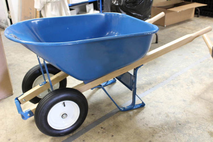 Construction Grade steel wheelbarrow