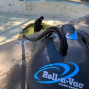 Roll-n-Vac for Pool Maintenance